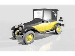 Gaston's Car Fiat 509 3d preview