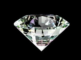 Clear Diamond 3d preview