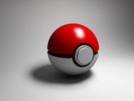 Poke Ball 3d preview