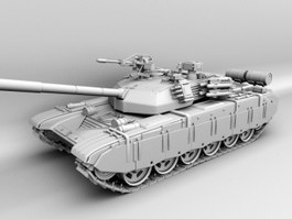 Chinese Type 99 Tank 3d preview