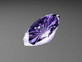 Fancy Purple Diamond 3d preview