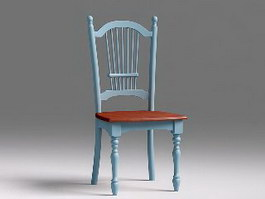 Vintage Dining Chair 3d preview