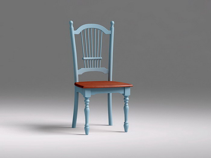 Vintage Dining Chair 3d rendering