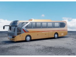 Intercity Coach Bus 3d preview
