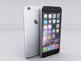 iPhone 6 Smartphones 3d preview