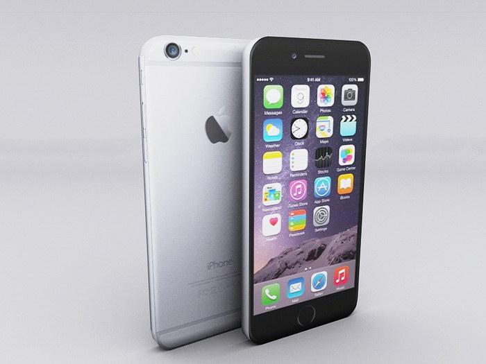 iPhone 6 Smartphones 3d rendering