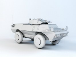 ASV Military Vehicle 3d preview