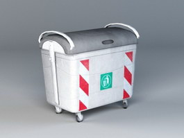 Garbage Container 3d preview