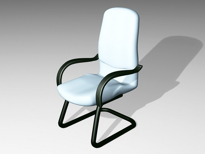 Cantilever Desk Chair 3d rendering