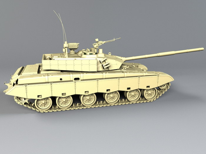 ZTZ-99 Chinese Main Battle Tank 3d rendering