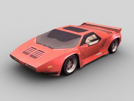 1989 Vector W8 Car 3d preview