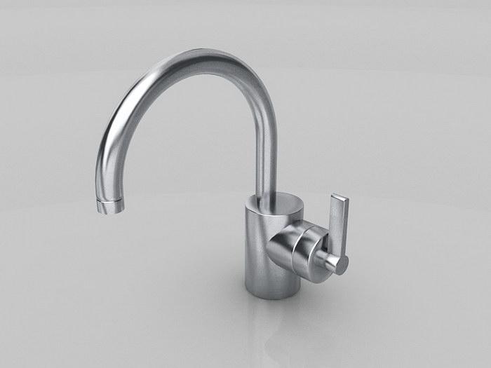Lowes Kitchen Faucet 3d rendering