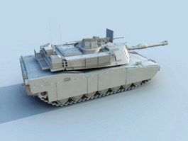 American M1 Tank 3d preview