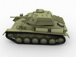 T-80 Soviet Union Tank 3d preview