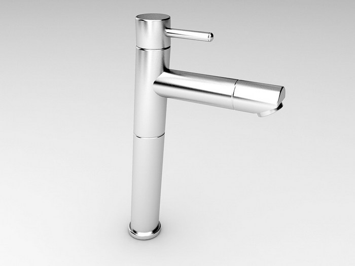 Bathroom Basin Tap 3d rendering