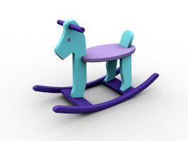 Kids Rocking Horse 3d preview