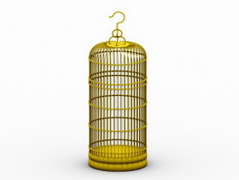 Wire Bird Cage 3d preview