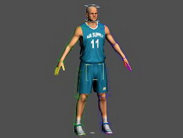 Basketball Player Rig 3d preview