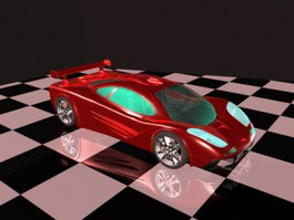 Cool Supercar 3d preview