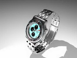 Men's Watch 3d preview