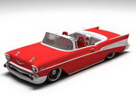 1957 Chevrolet Convertible 3d preview