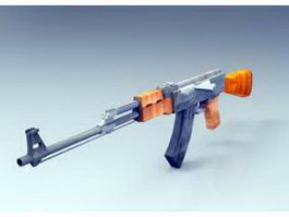 AK-47 Rifle 3d preview