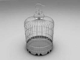 Metal Birdcage 3d model