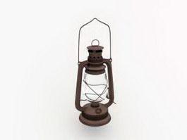 Old Kerosene Lantern 3d model preview