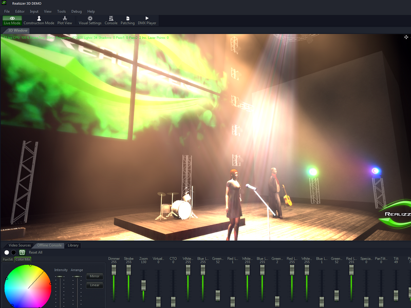 Realizzer 3D Lighting Simulation Visualiser Software - CadNav