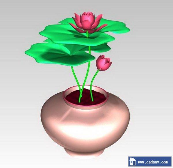 Lotus Flower 3d Model UnigraphicsNX Files Free Download