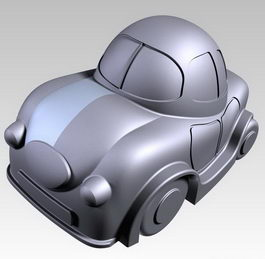Toy car 3d preview
