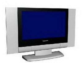 Pannsonic LCD 3d model preview