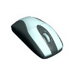 Optical Mouse 3d model preview