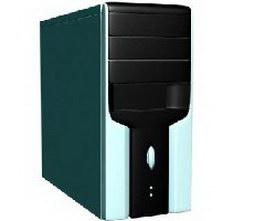 PC case 3d model preview