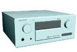 Marantz sr7500 amplifier 3d model preview