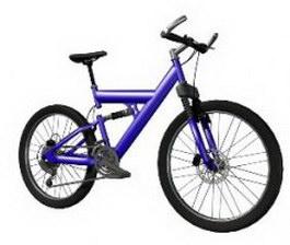 Racing bike 3d model preview