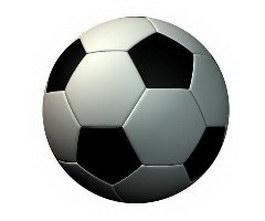 Soccer football 3d preview