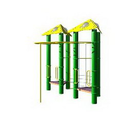 Outdoor sports equipment 3d model preview