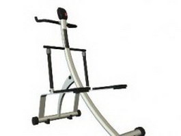 Fitness equipment 3d preview