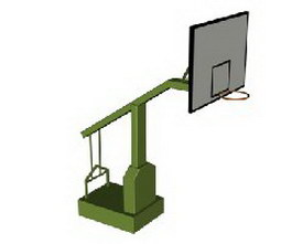 Basketball stands 3d preview