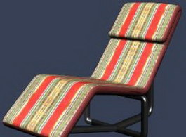 Chaise Lounge 3d preview