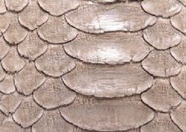 PU Leather snake skin texture