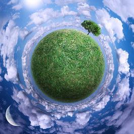 Green earth texture