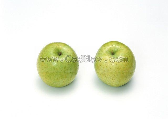 Green apple texture