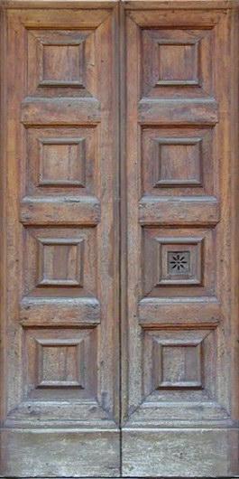 Strong wooden door texture