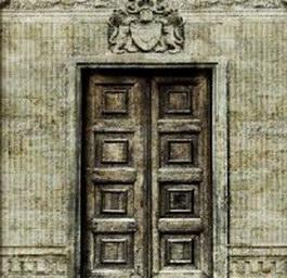 Brick door texture