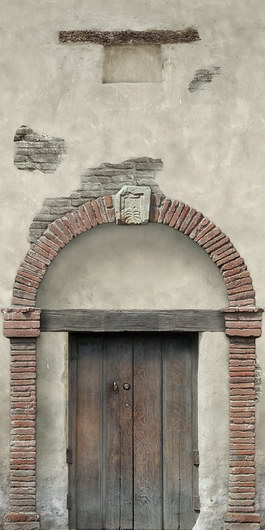 Brick Arched door texture