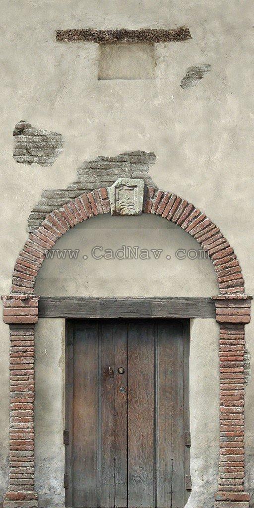 Brick Arched door texture