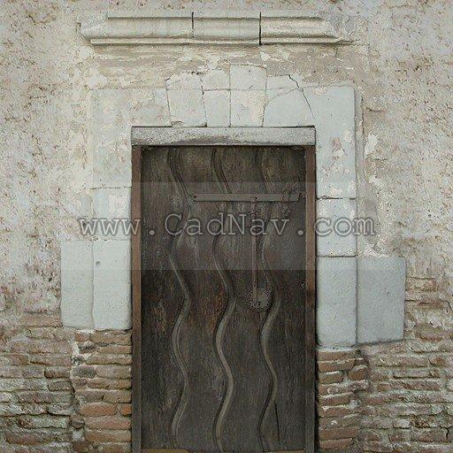Portuguese old door texture