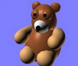 Teddy Bear 3d preview